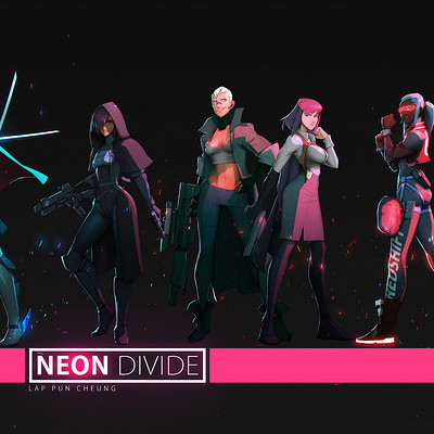 Lap pun cheung neon divide character compilation 001 online