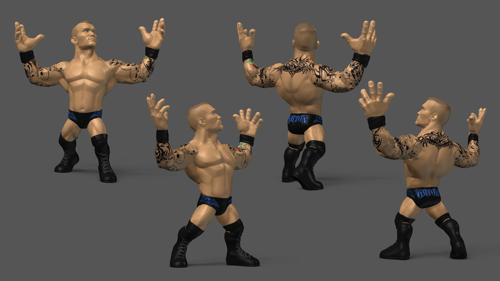 Randy Orton - Toy Prototype