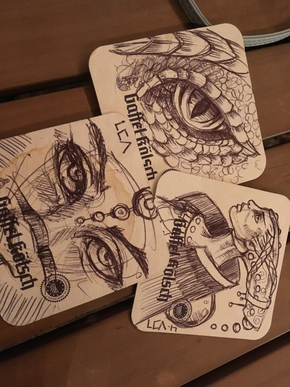 Coaster Doodles