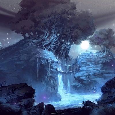 Nele diel sacred waters