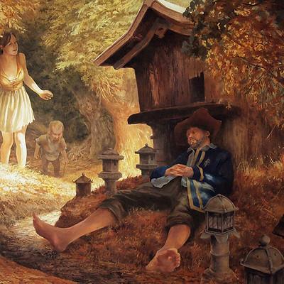 Egil thompson sleeping merchant