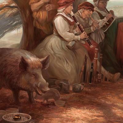 Egil thompson songs of the boar