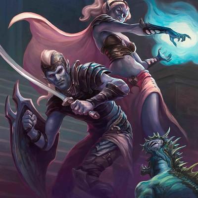 Egil thompson dark elves