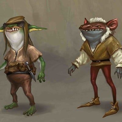 Egil thompson goblin concepts