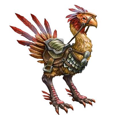 Egil thompson war bird mount