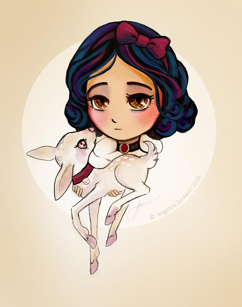 Angelica zurawski 180101 snow white