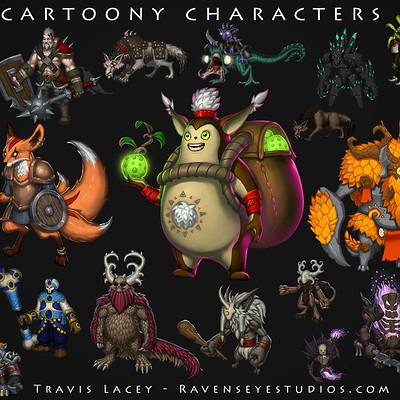 Travis lacey creatures