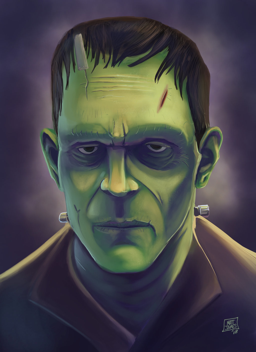 Matt james frankenstein s monster by snakebitartstudio dbyn27f 1