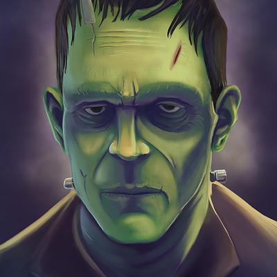 Matt james frankenstein s monster by snakebitartstudio dbyn27f 1