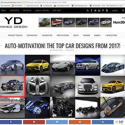 Jomar machado a top cars designs 2017