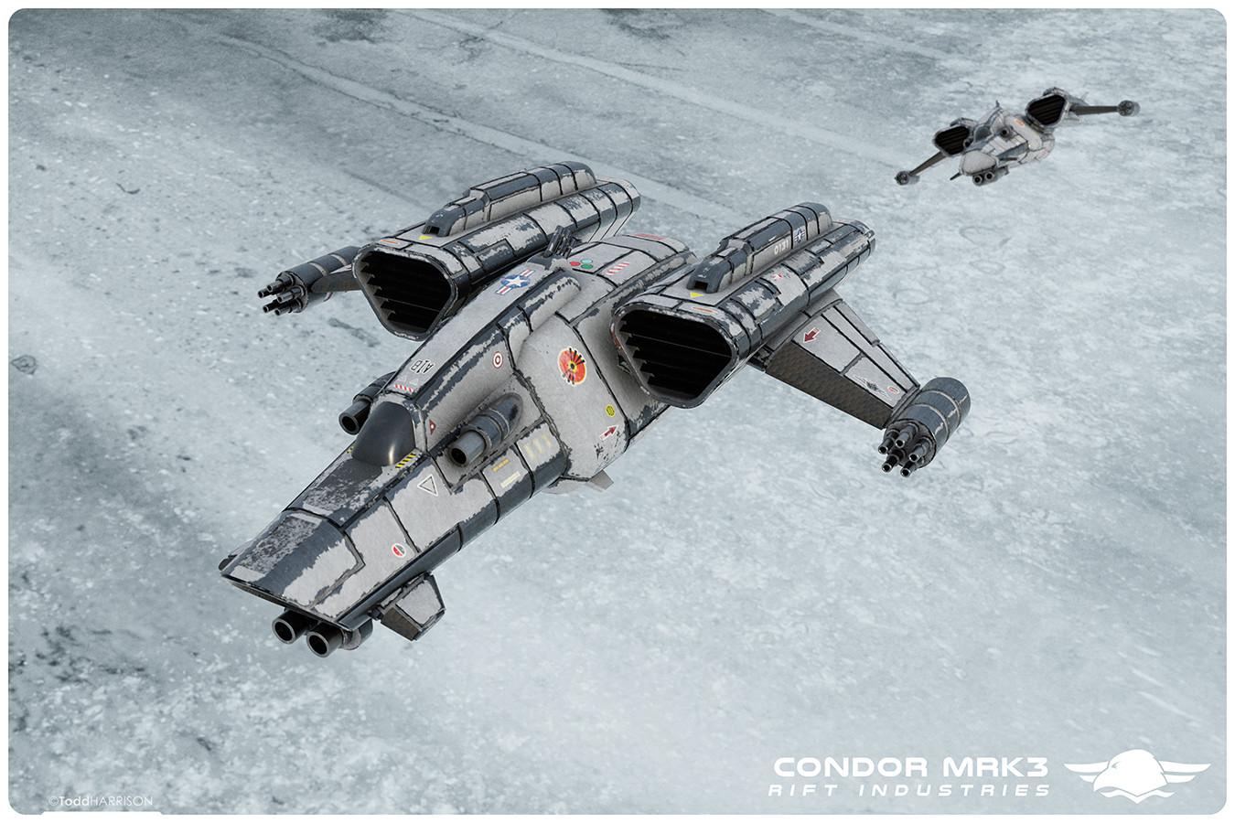 Todd harrison ri condor mrk3 pair over glacial fields web