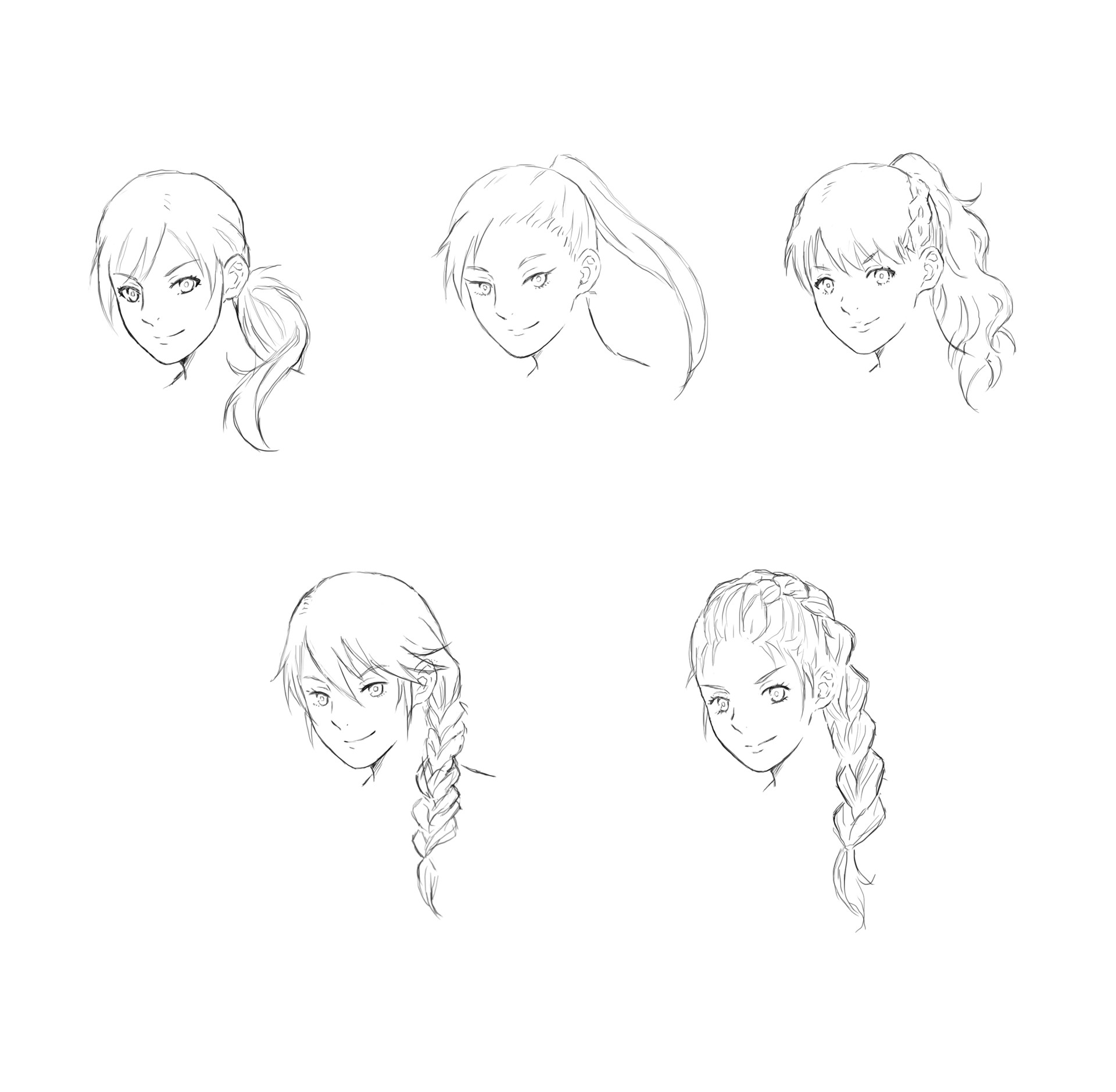 Jesu gormaz adult lyfia face sketches