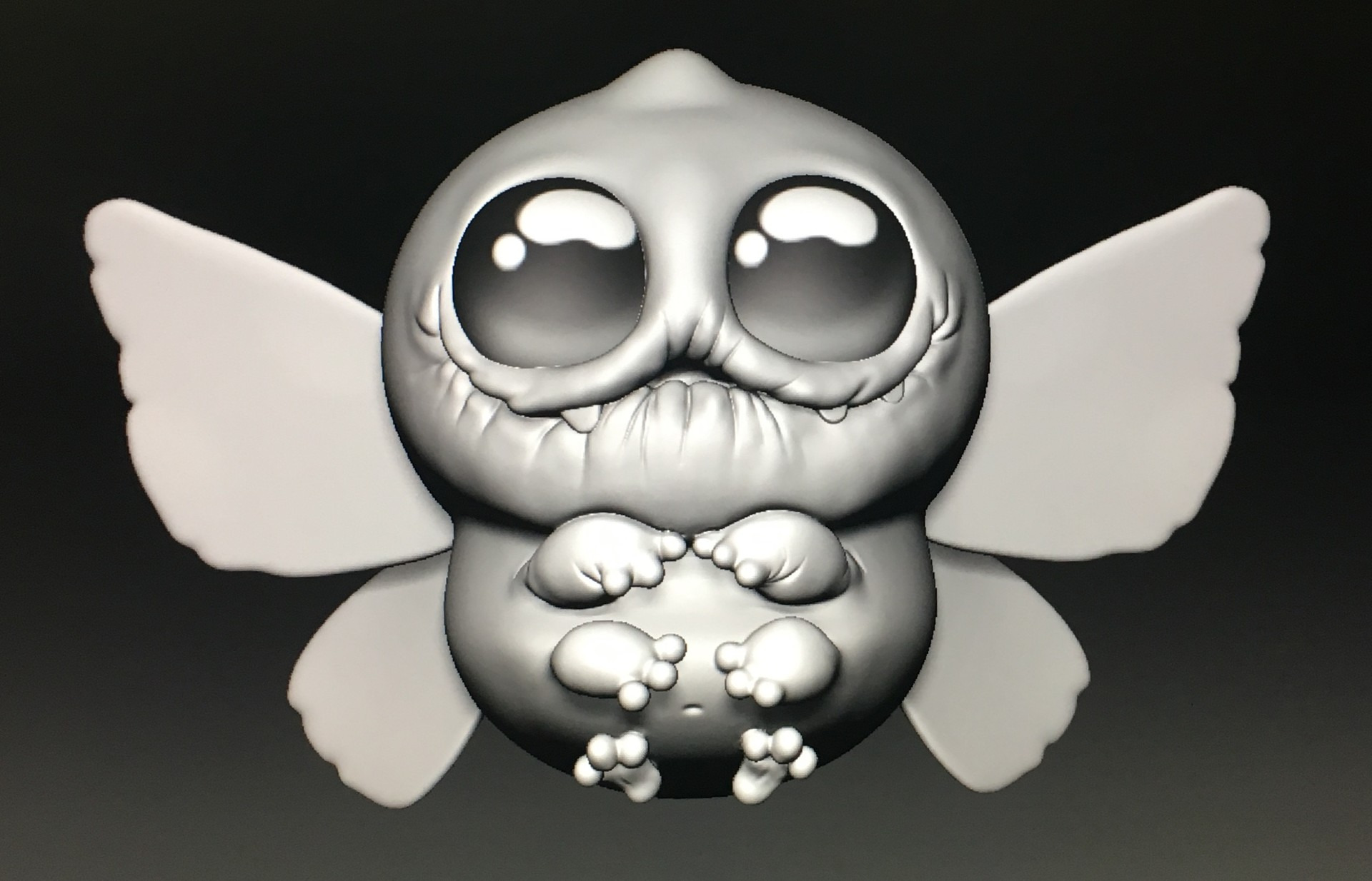 WIP - 3D sculpt based on Chris Ryniak concept art