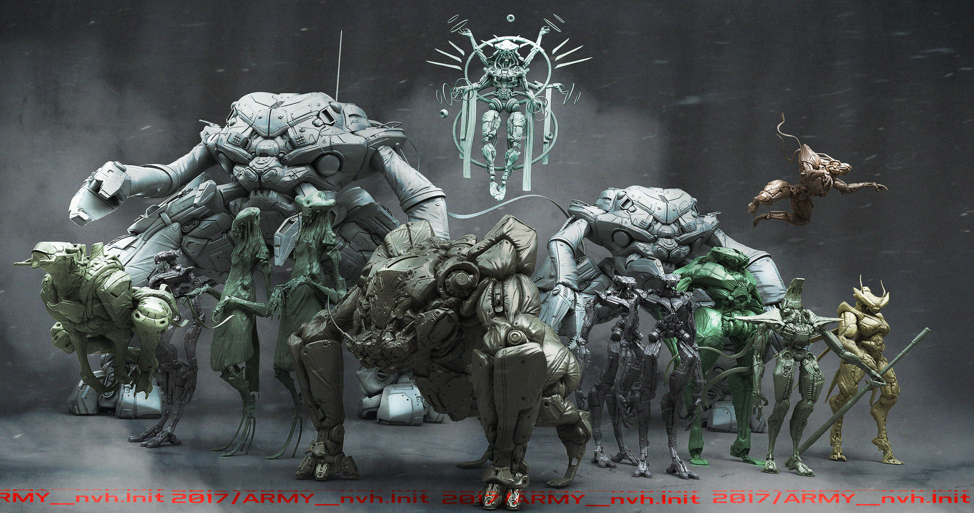 Mickael lelievre army bots