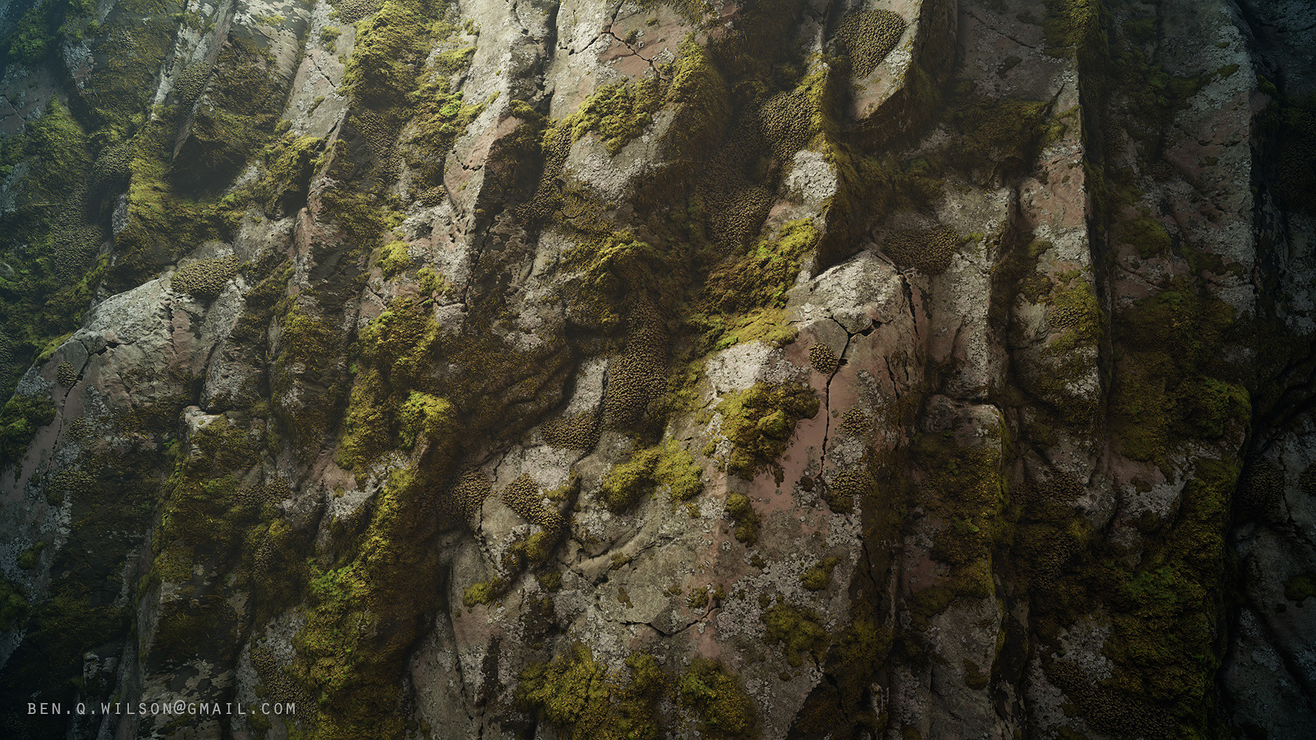 Ben wilson moss rock a
