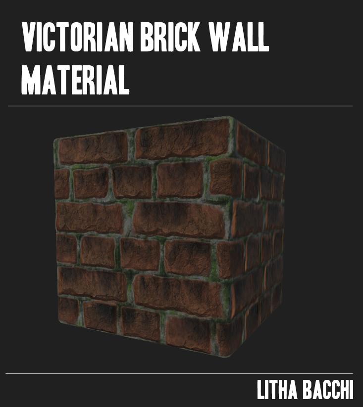 Victorian Brick Wall Material