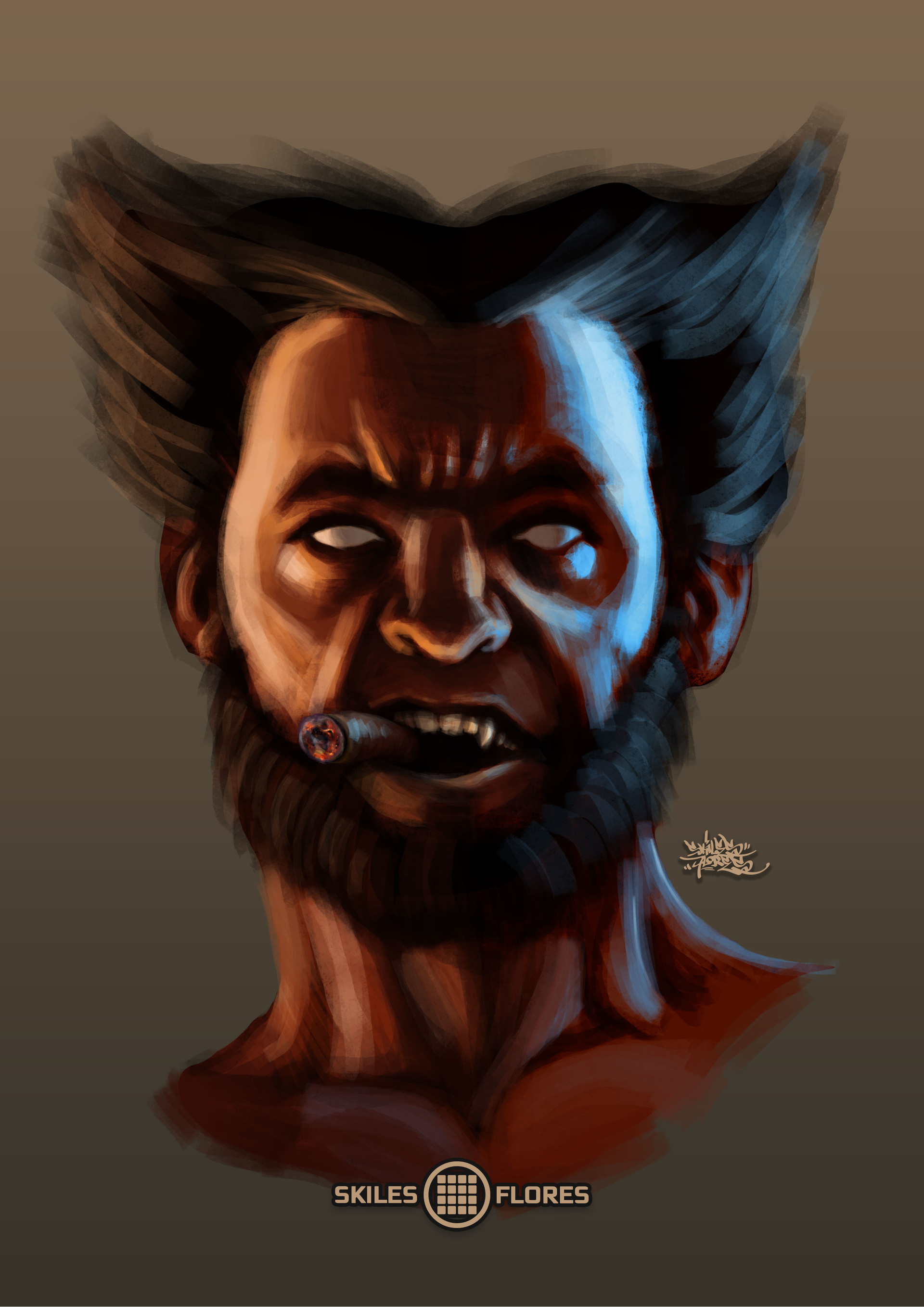 Skiles Flores Wolverine Face Concept Final Update A