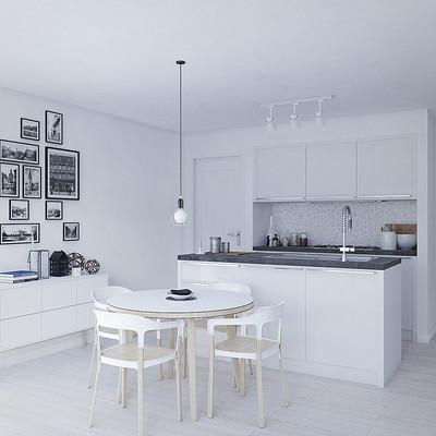 Francois bethermin white interior 01