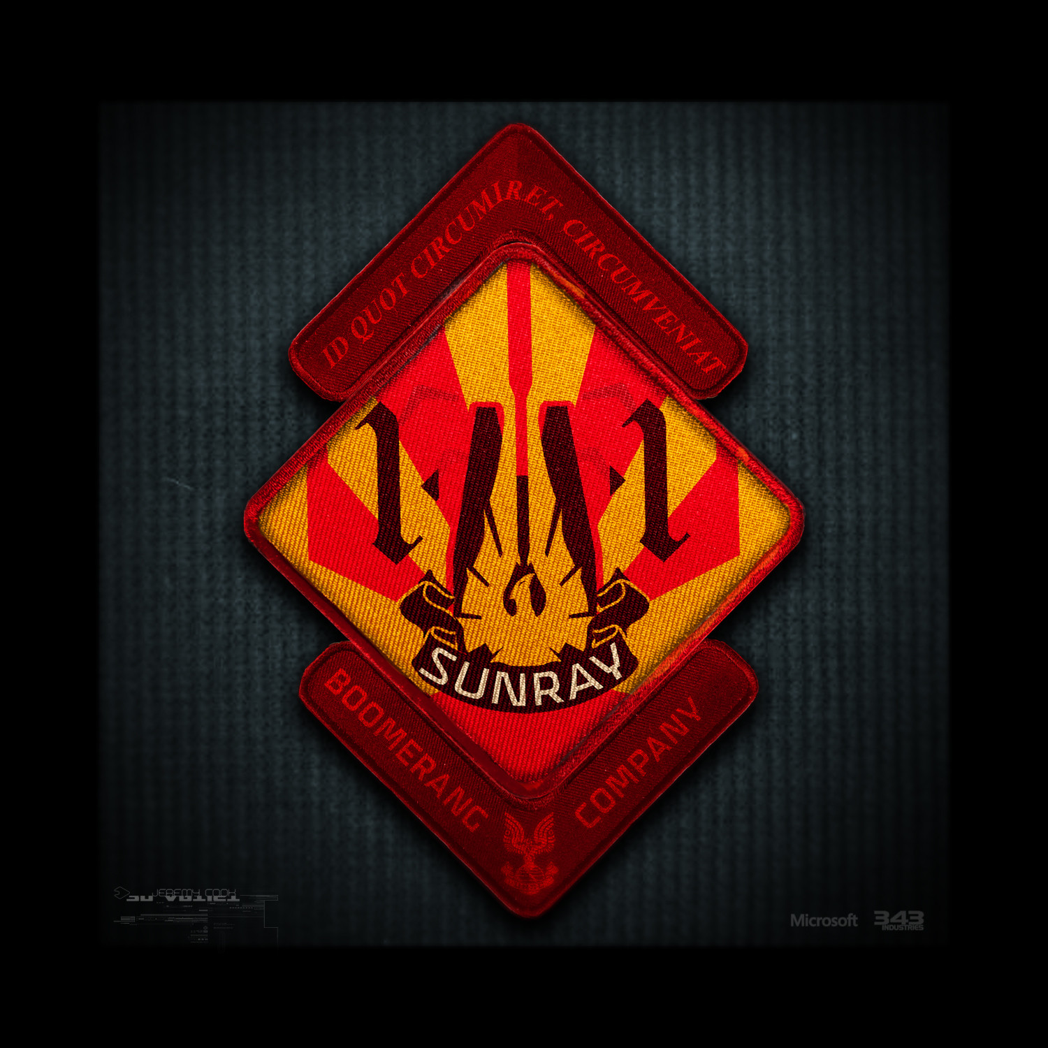 Team Sunray squadron Patch concept