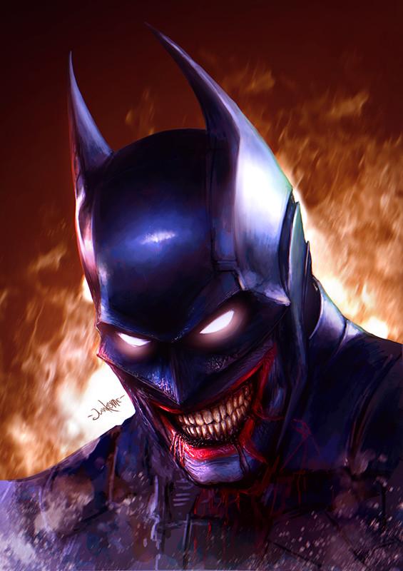 Artstation The Batman Who Laughs Eugene Gore Junkome