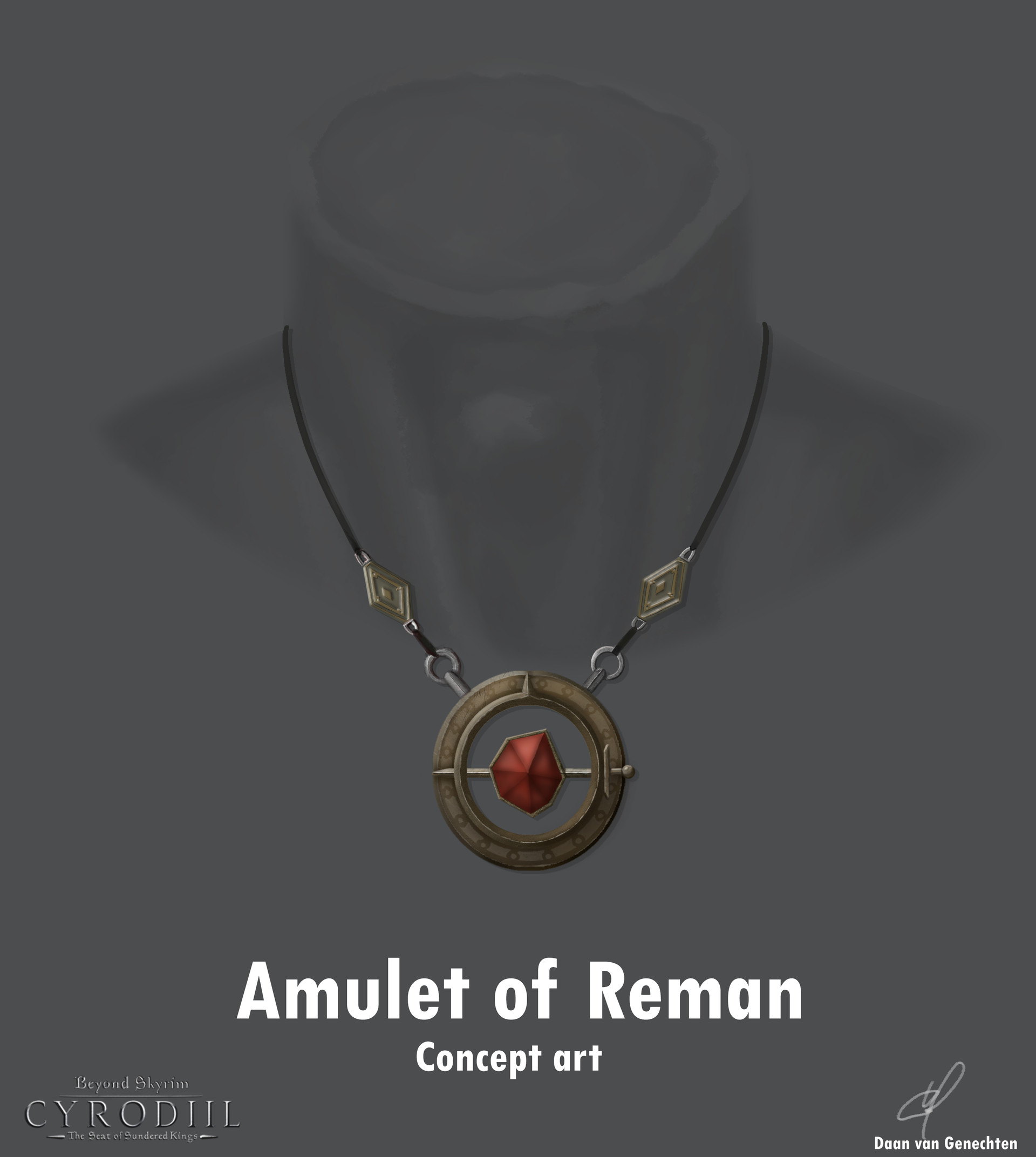 ArtStation - The amulet of Reman, Daan -