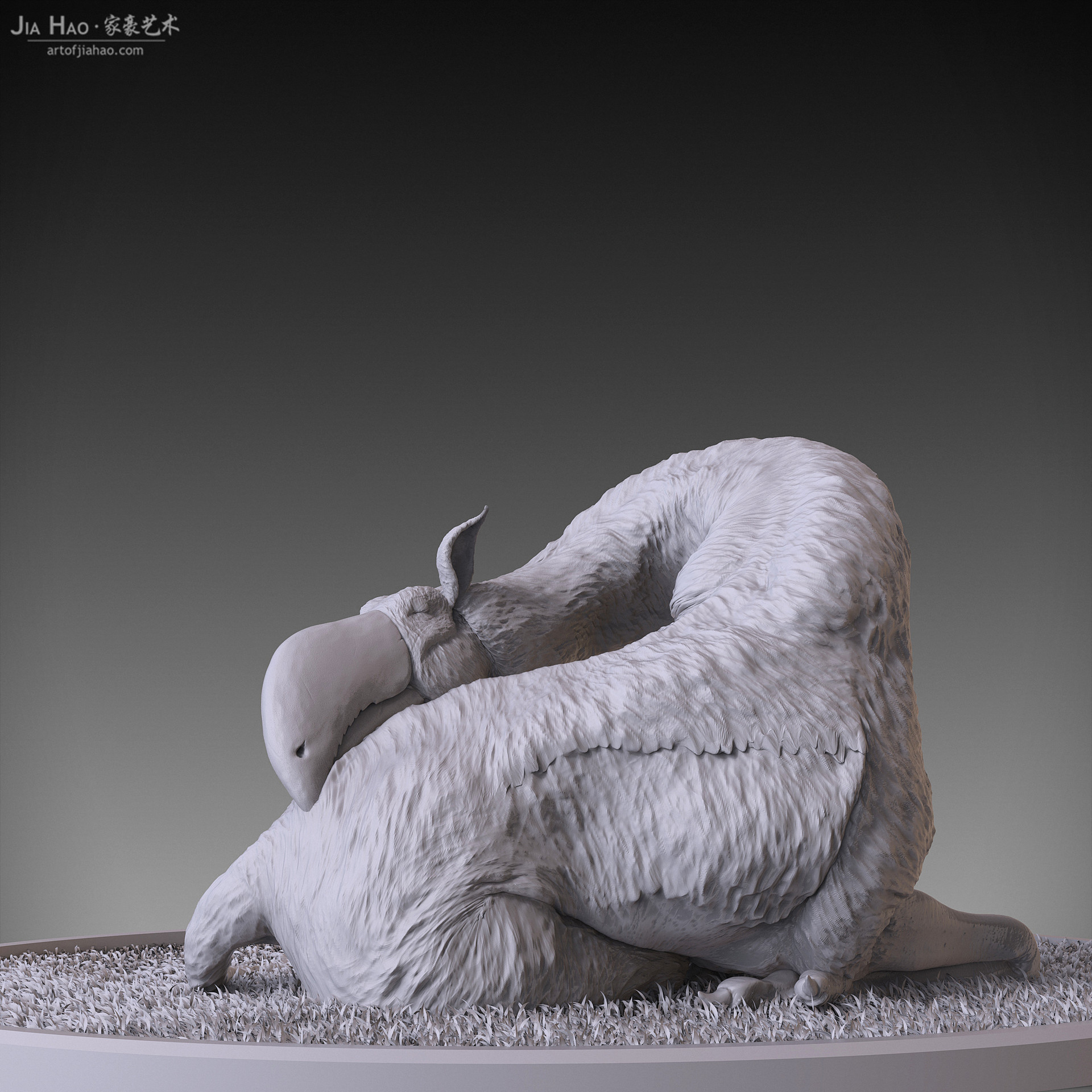 Jia hao 2017 toucaffesleeping digitalsculpting 04
