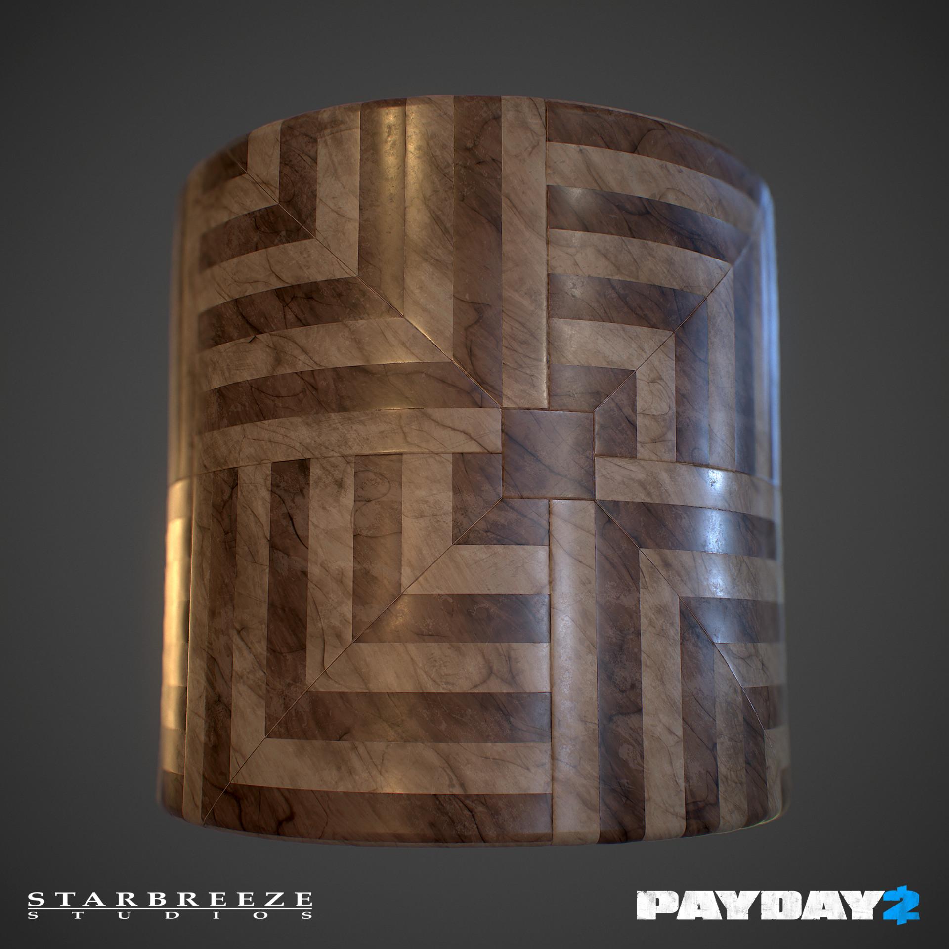 Lucas josefsson lucasjosefssonpayday2 patterned marble floor