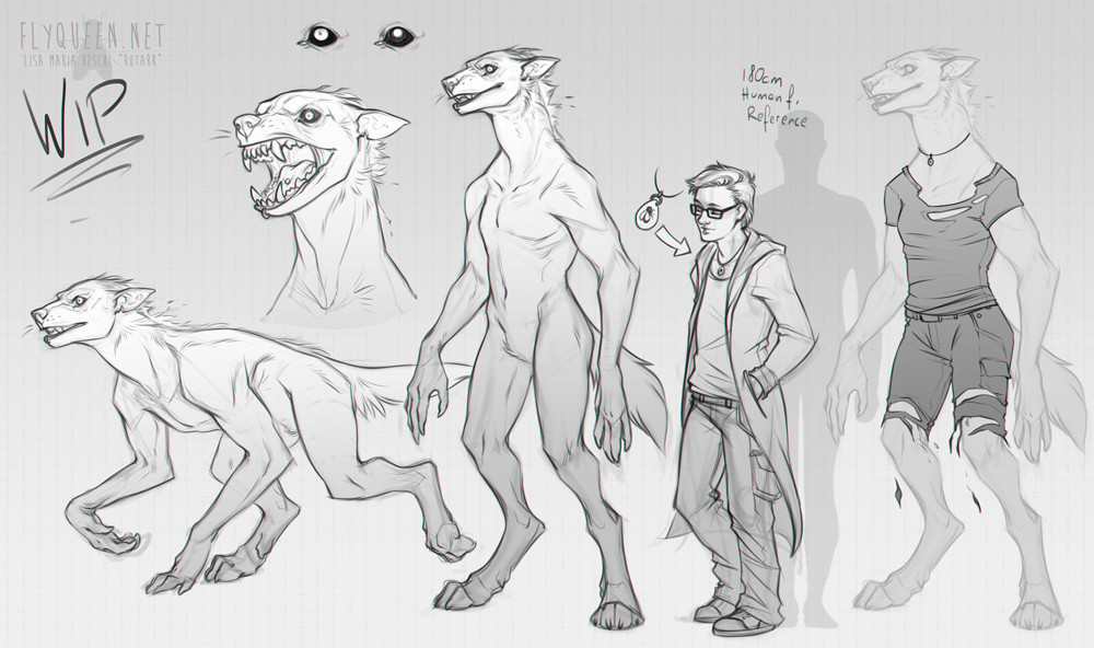 Lisa heschl 170611 werewolfwip2