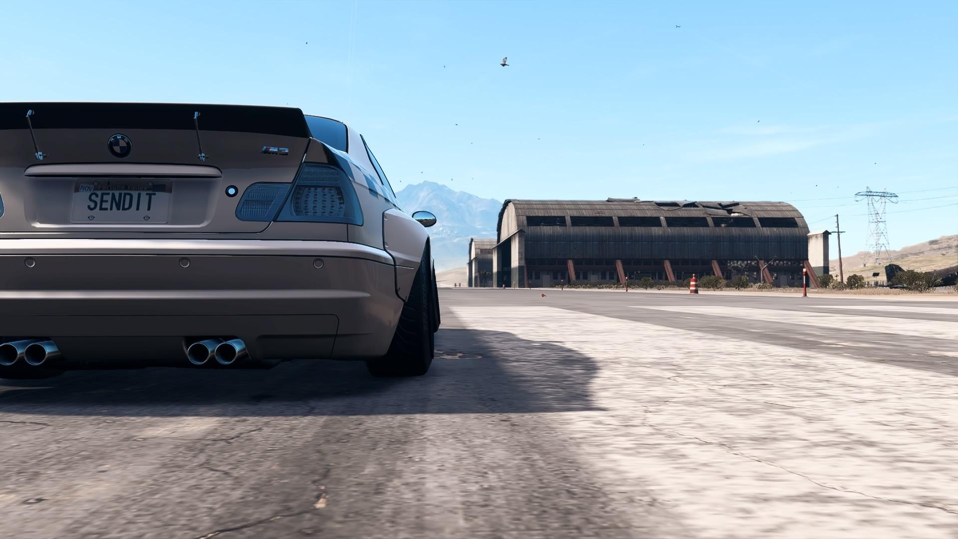 The Phantom - Pandem BMW M3 (E46) Drift