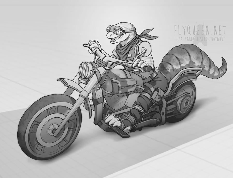 Lisa heschl 170831 geckogirl bike kopie