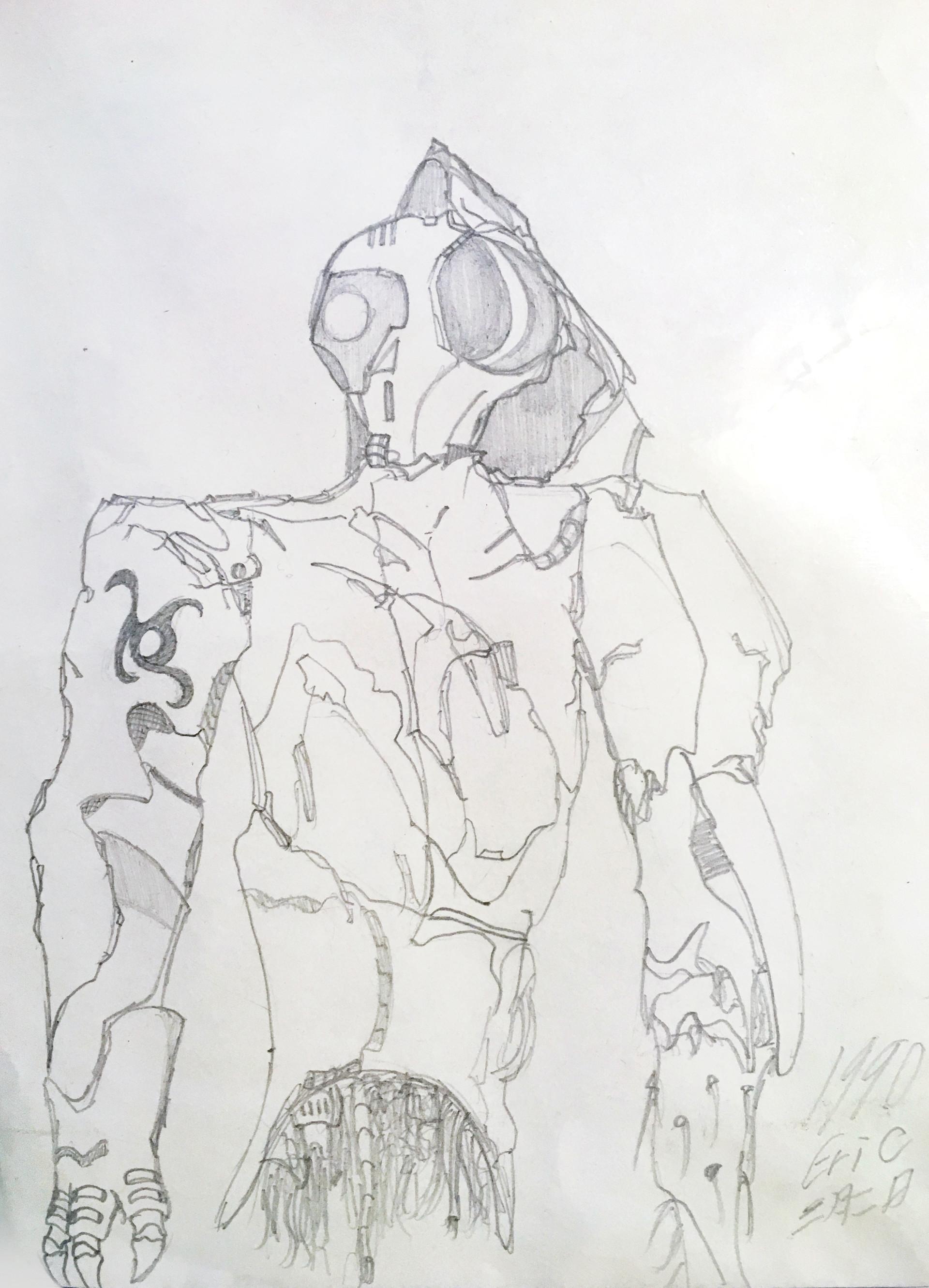 E lynx cyborg insectoid