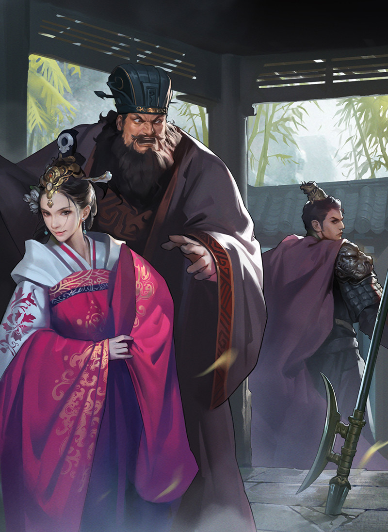 Artstation Diao Lu Bu Dong Zhuo In Fengyiting Inrainn Chan