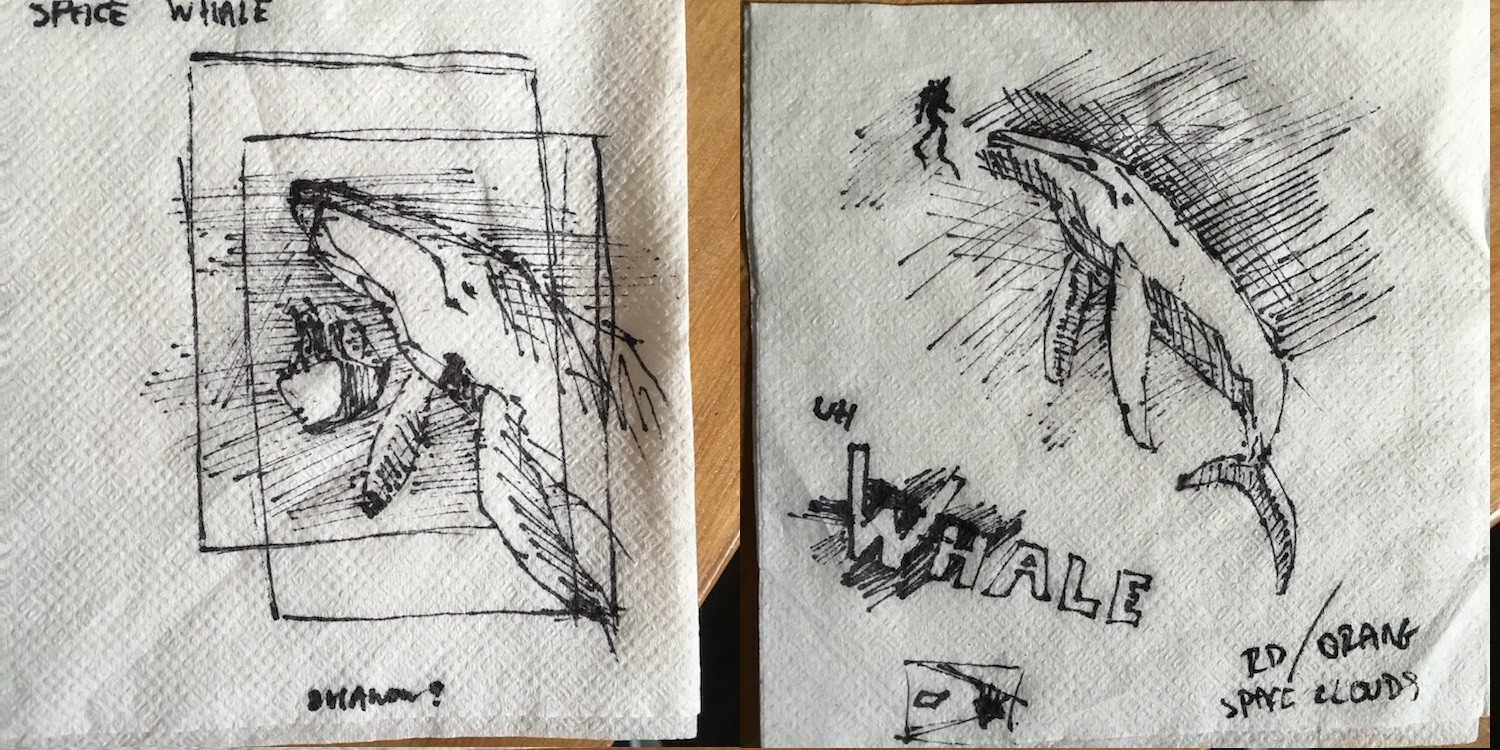 Initial, initial sketches