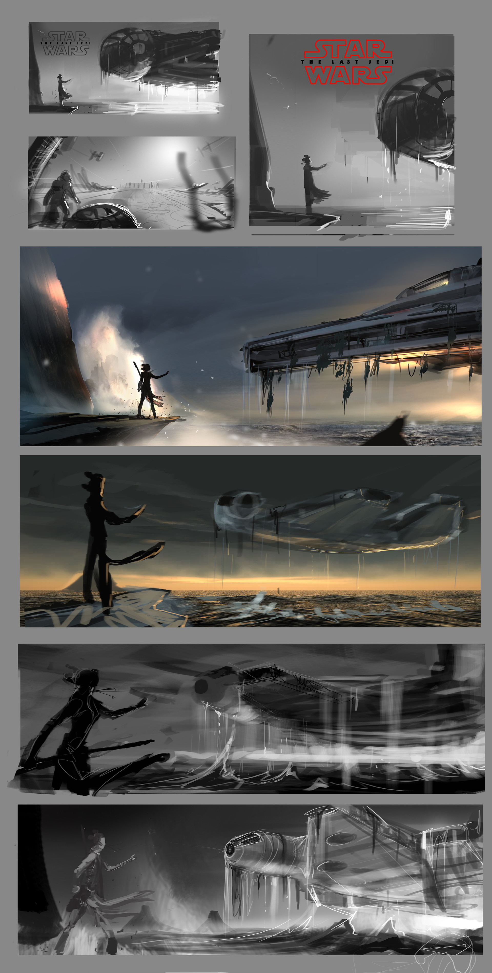 Studies - Thumbnails