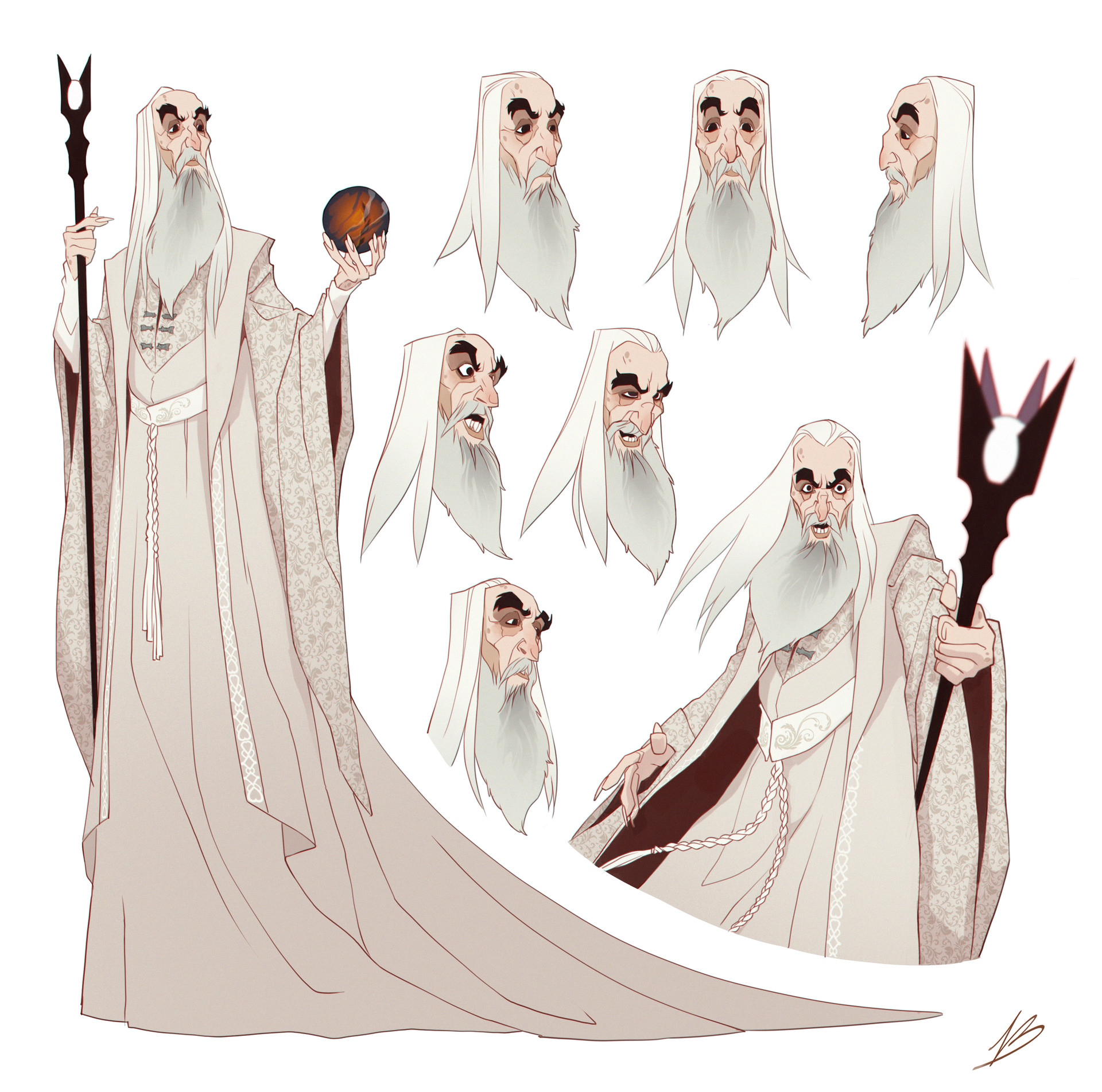 - Saruman the White -