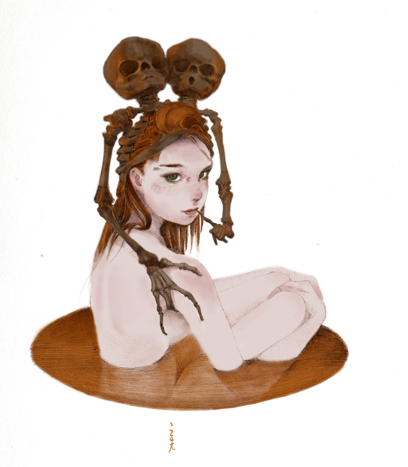 chocolate coffee  girl