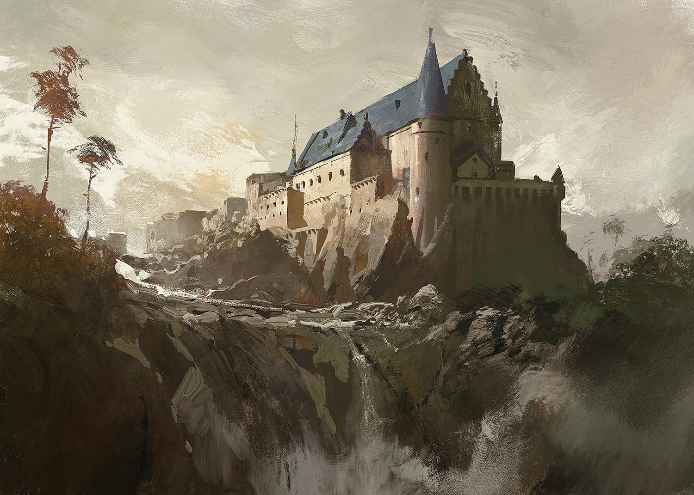 Greg rutkowski castle demo 1500