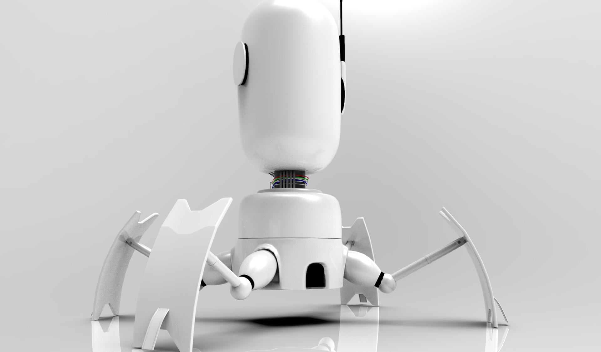 Luis valle robot render 2