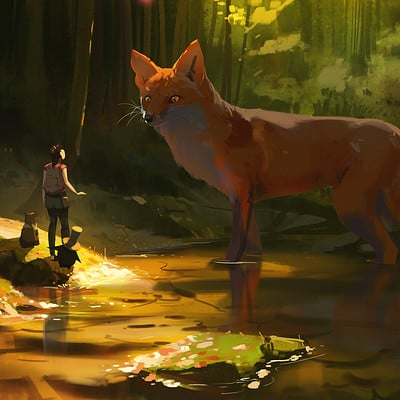 Atey ghailan path of miranda forest spirit high quality
