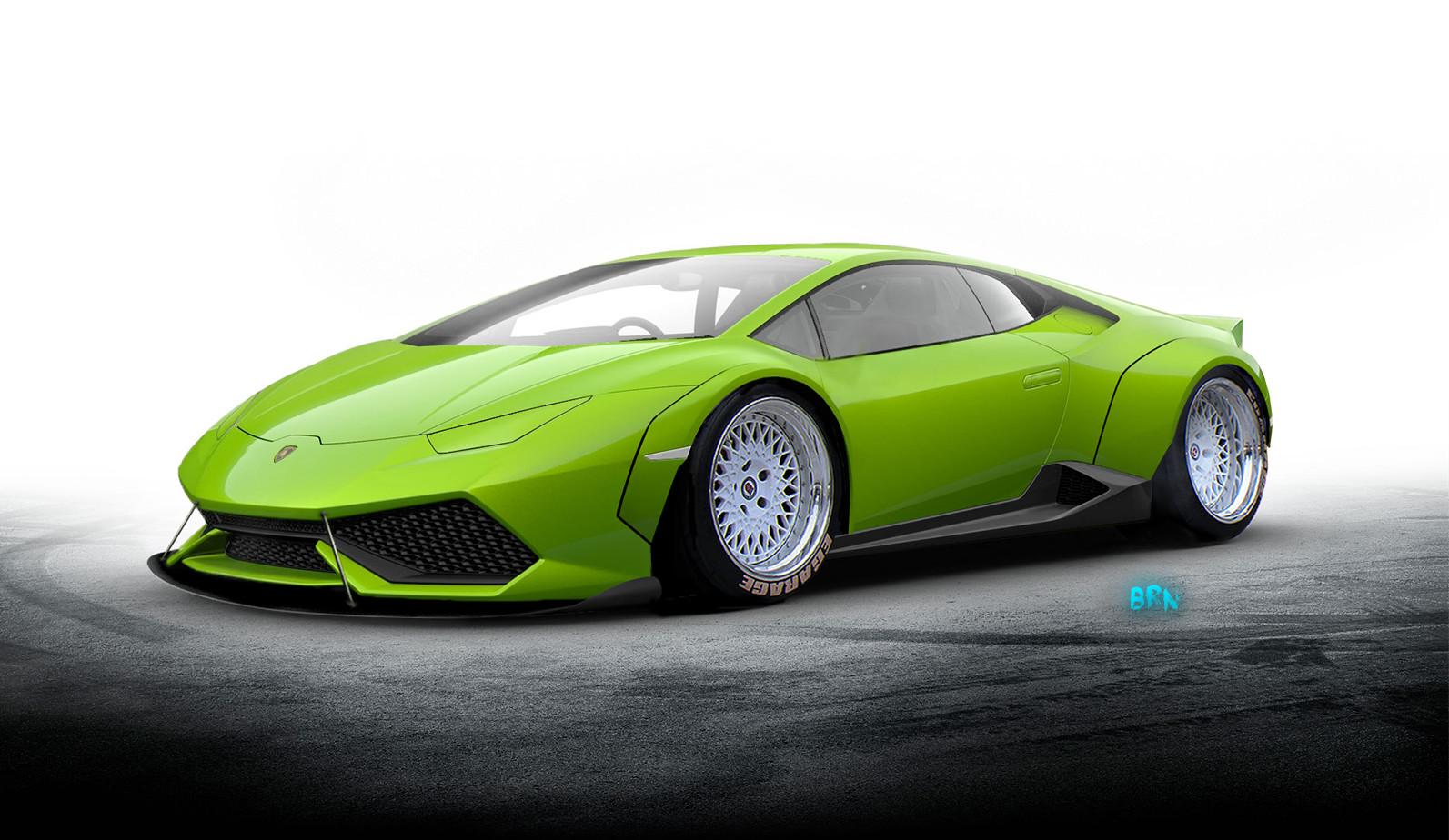Artstation Lamborghini Concept Bruno Martinho