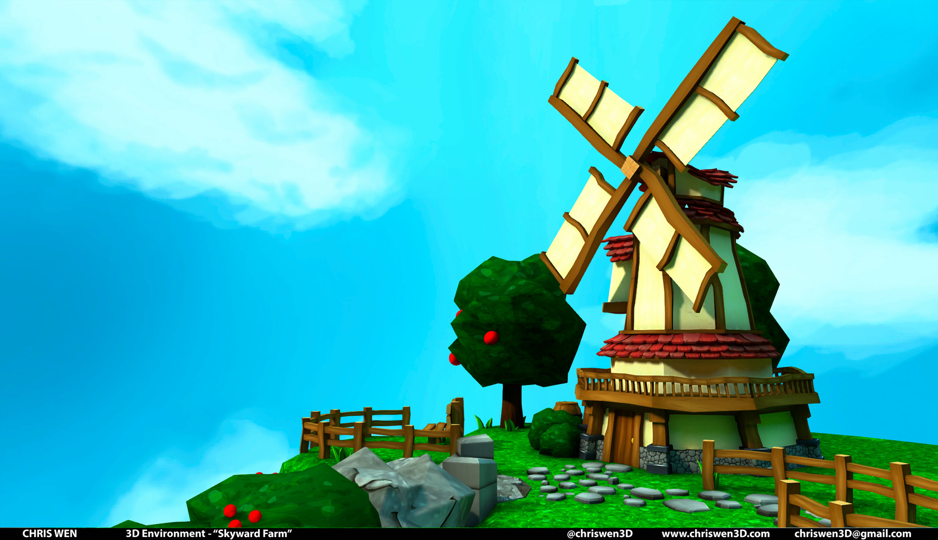 Chris wen windmill