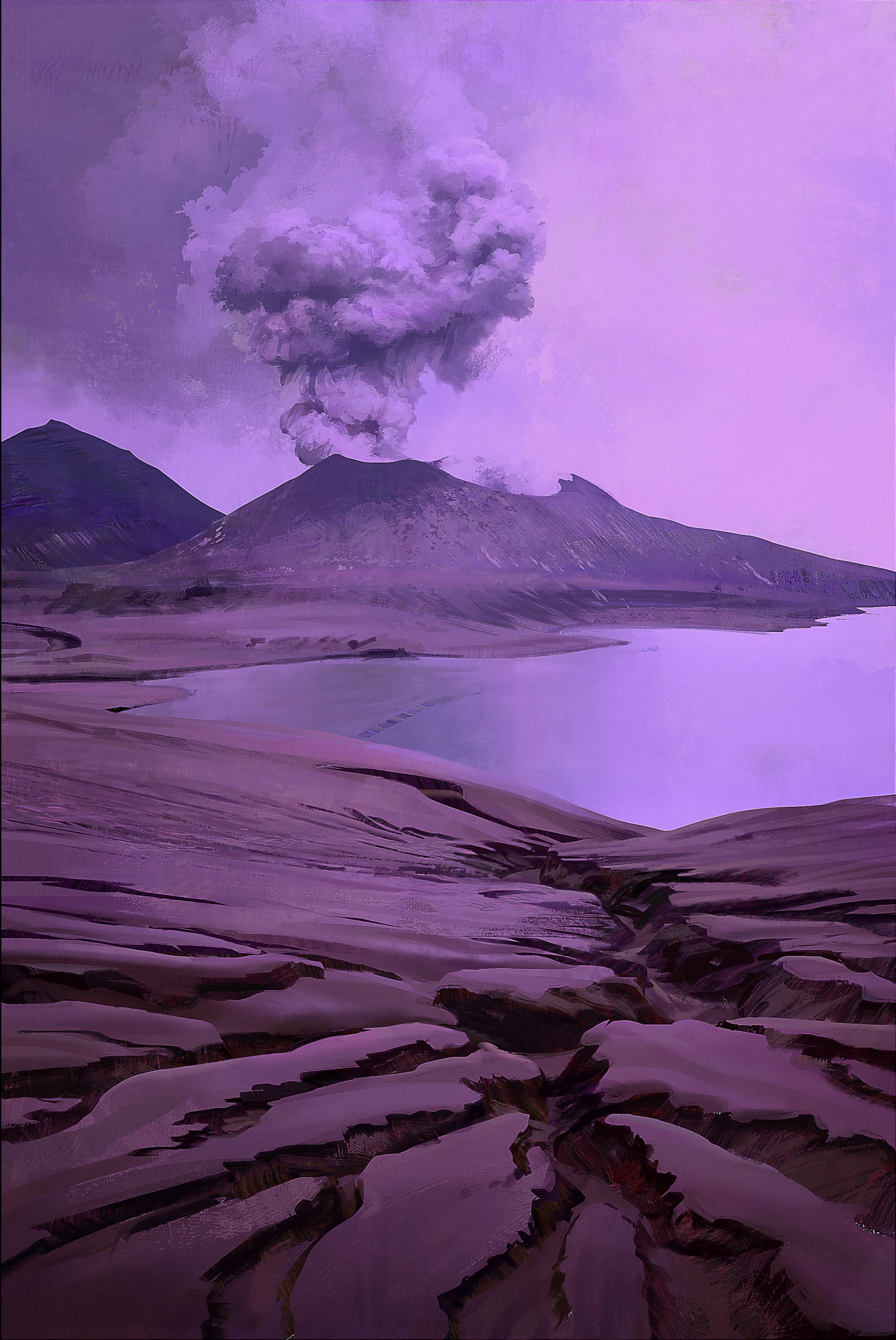 Volcano study