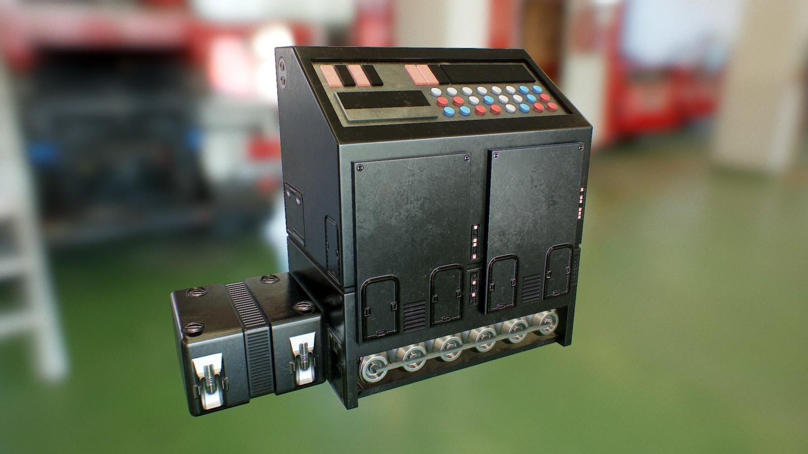 Retro Scifi Console