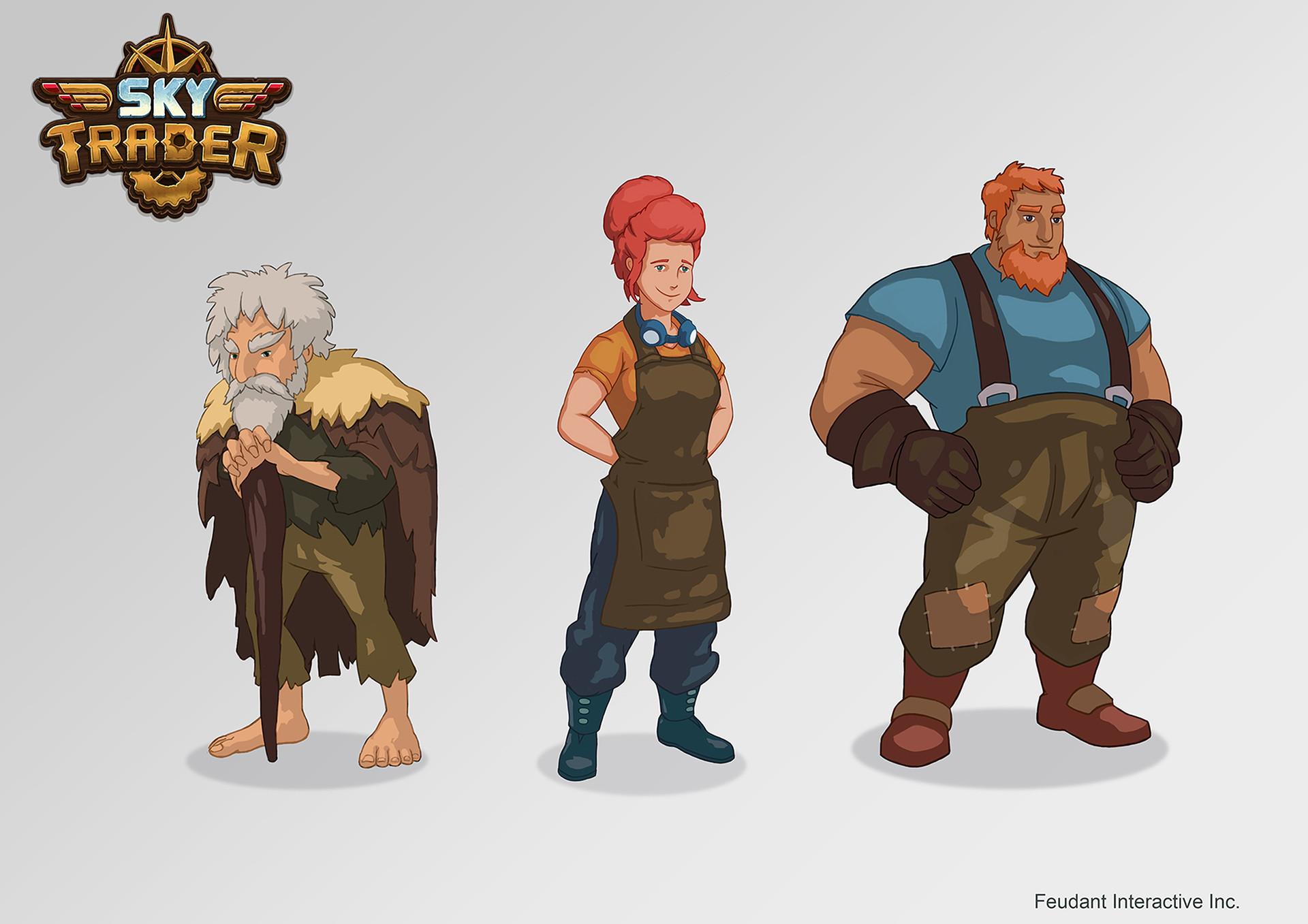 Joe shawcross characters da1