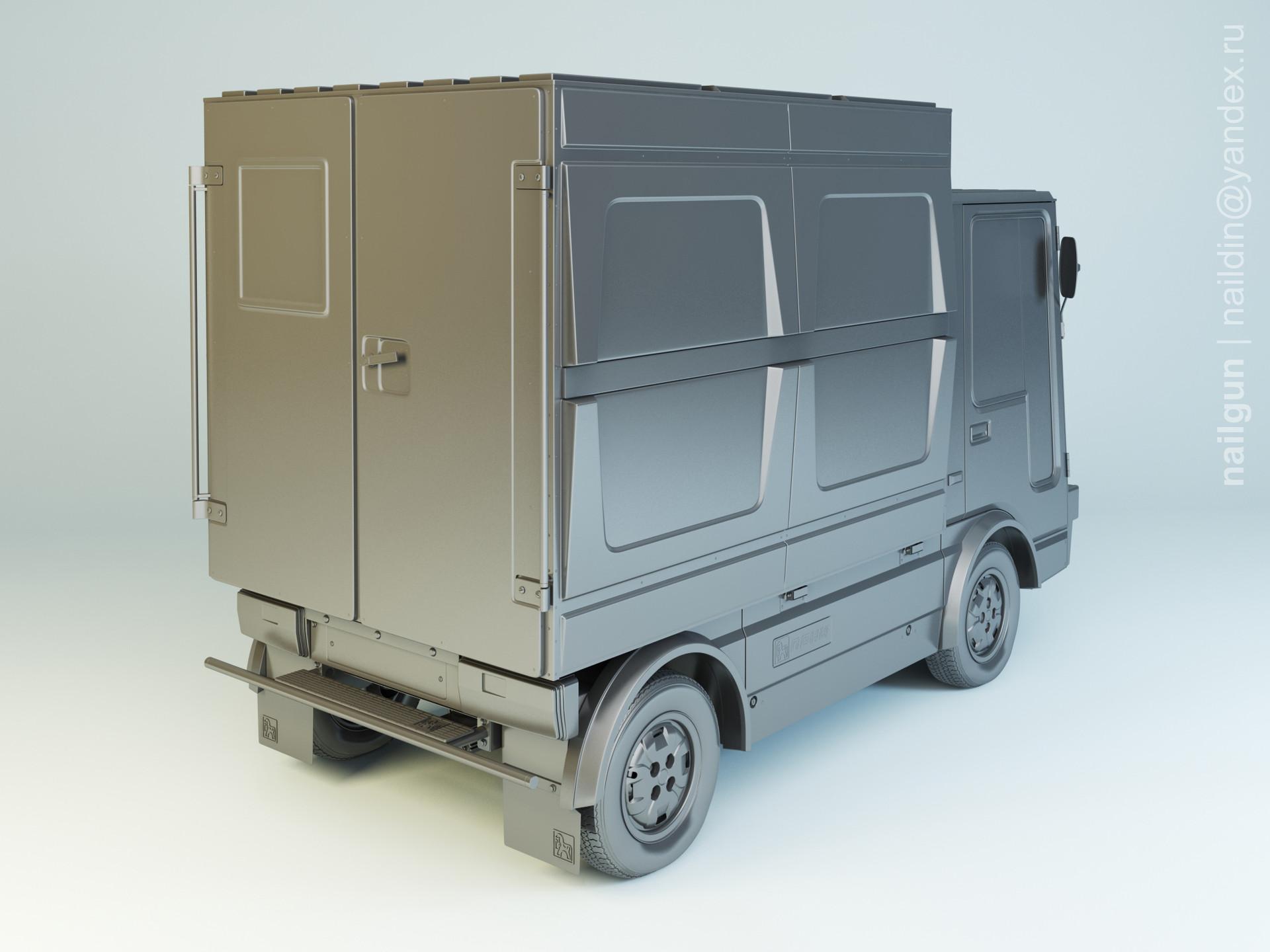 Nail khusnutdinov al 140 003 vaz 2802 2 poni modelling 1