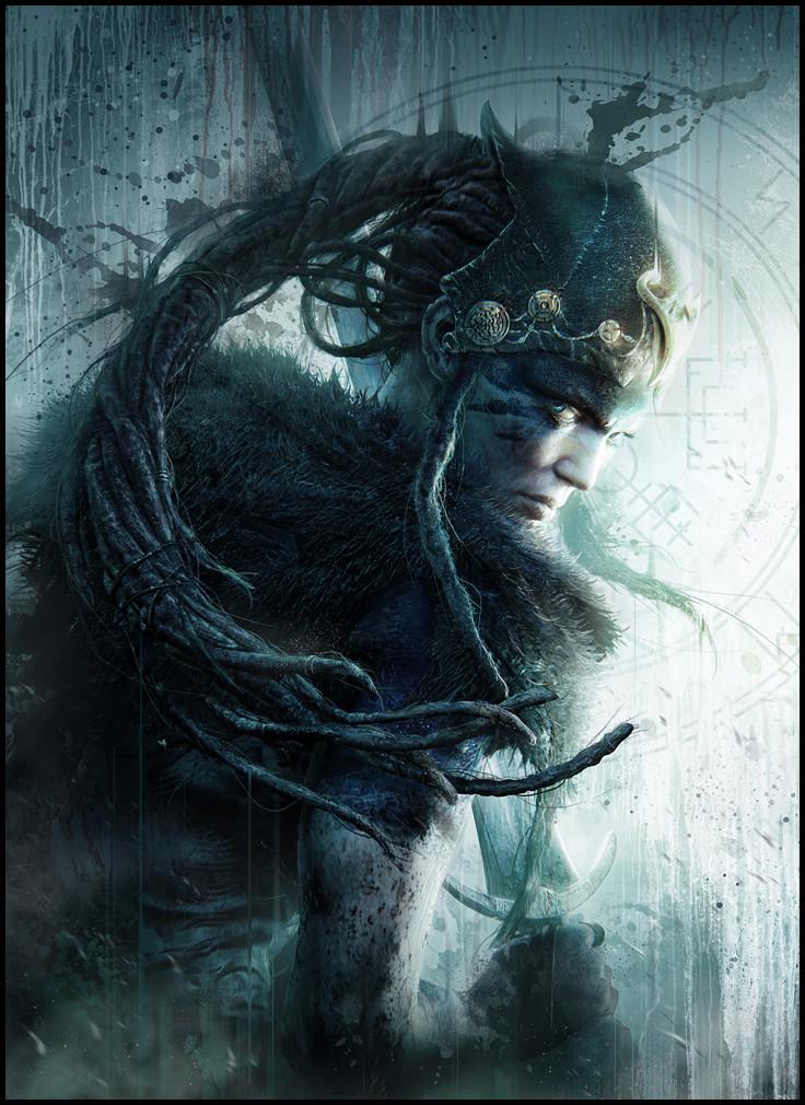 Hellblade - Playstation Mag Cover © Ninja Theory