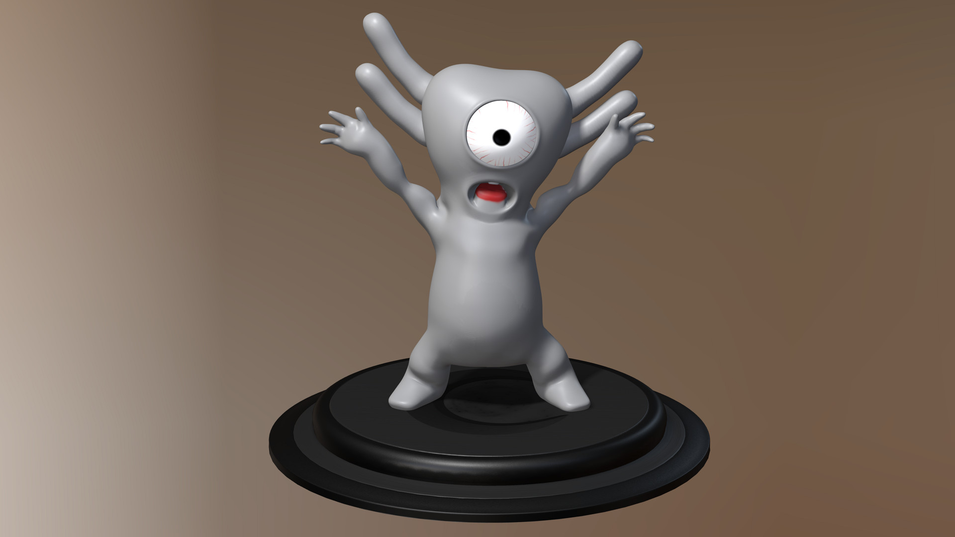 character,3d,go2bo,creatures,zbrush,iclone7,