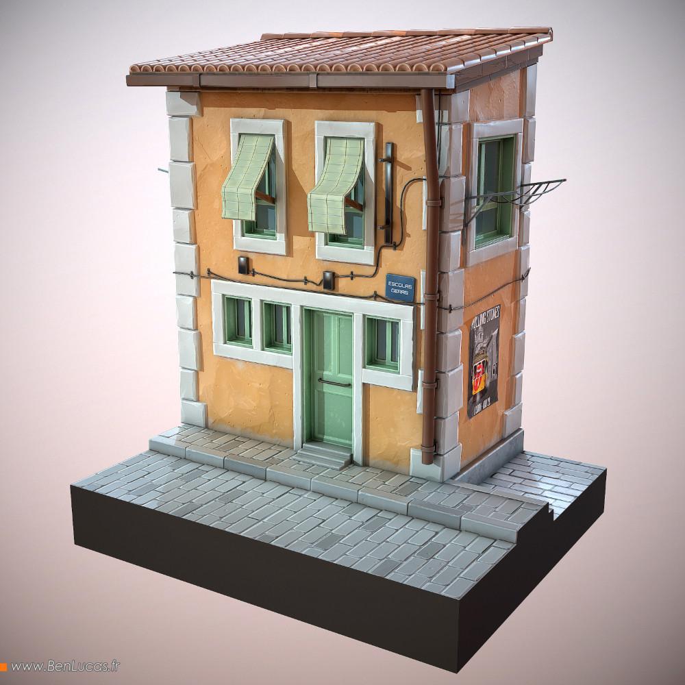Benjamin lucas lisboa cartoon house
