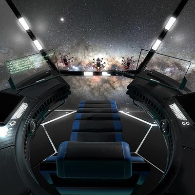 2017 - Sci Fi command room