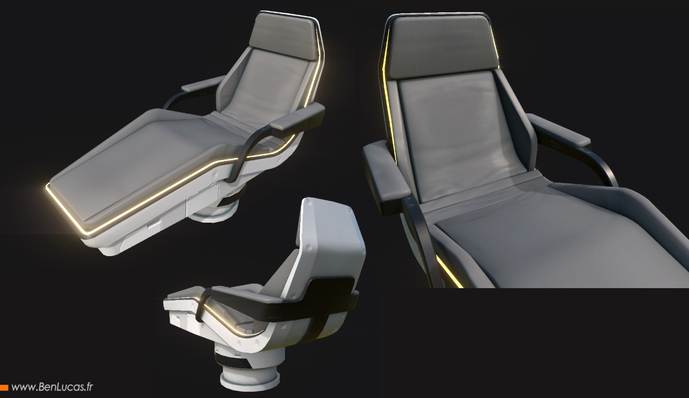 Substance Painter seat 2